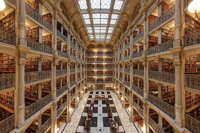 baltimore-george-peabody-library-usa-editorial-use-only-matthew-petroff-flickr-2