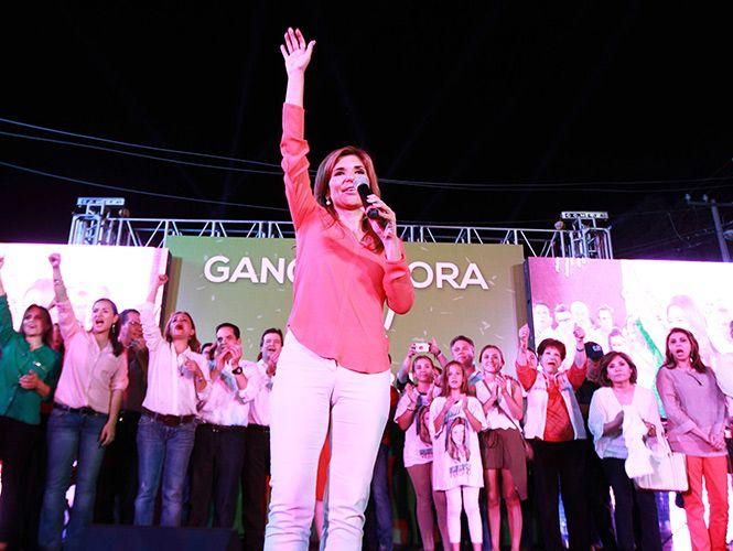 Pavlovich será la primera mujer en gobernar Sonora. Foto de Excélsior.