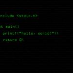 hello world in C