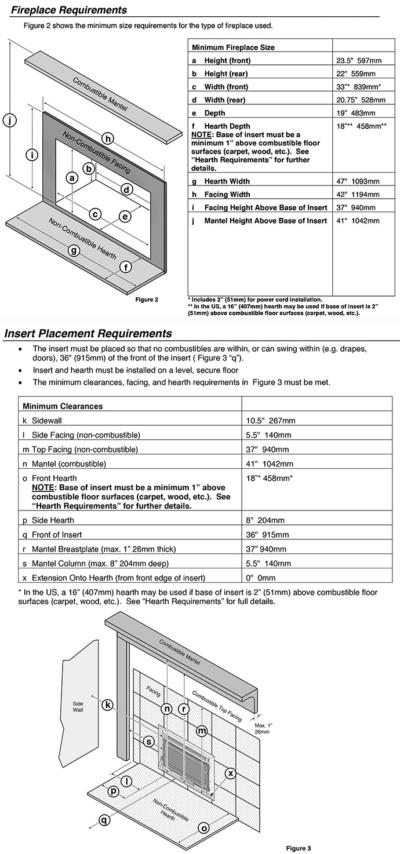 Lopi Large Flush Wood Hybrid-Fyre insert (arched or