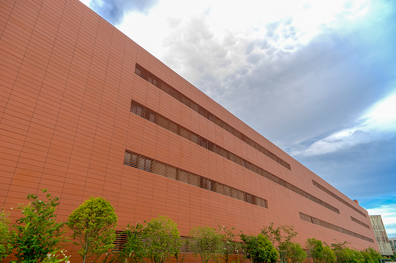 lopo terracotta cladding project in