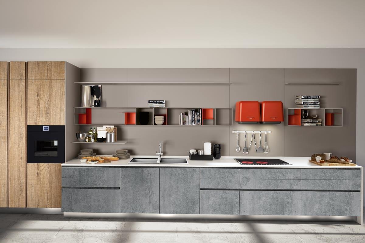Cucine moderne componibili Top Lops Pitti Progetto 3  Acquistabile in Milano e provincia Monza