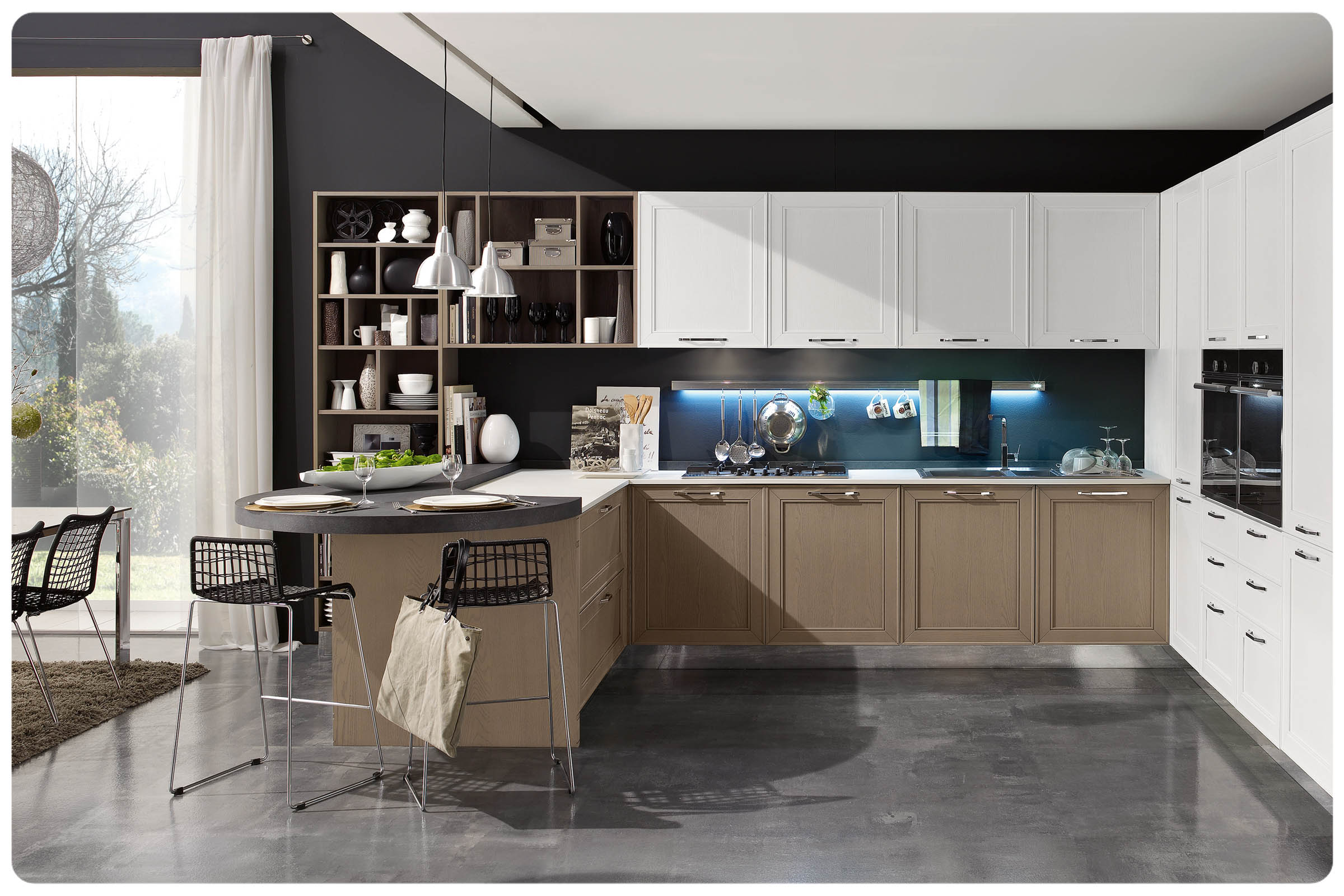 Cucine moderne componibili Stosa Replay  Acquistabile in