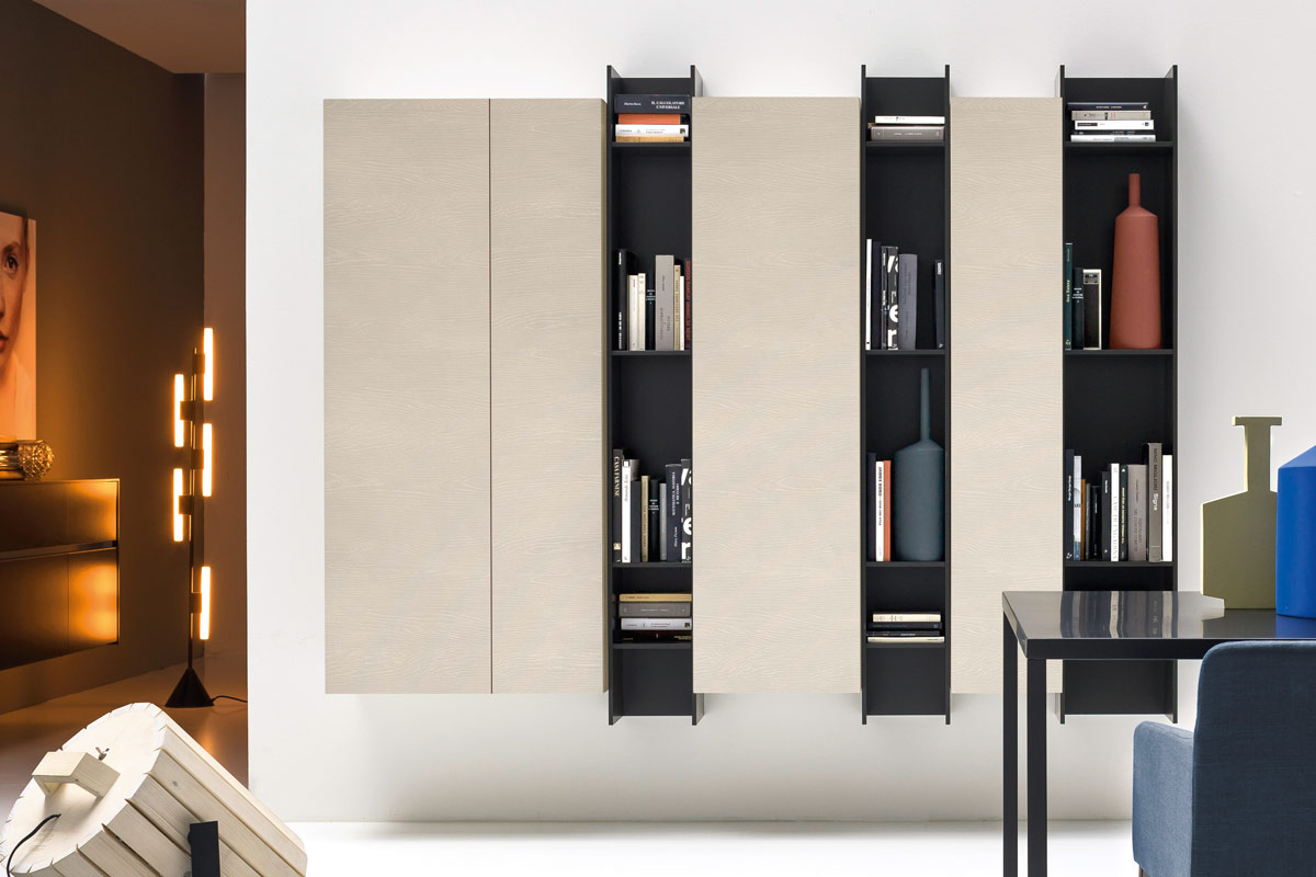 Libreria moderna componibile Top Lops Butterfly
