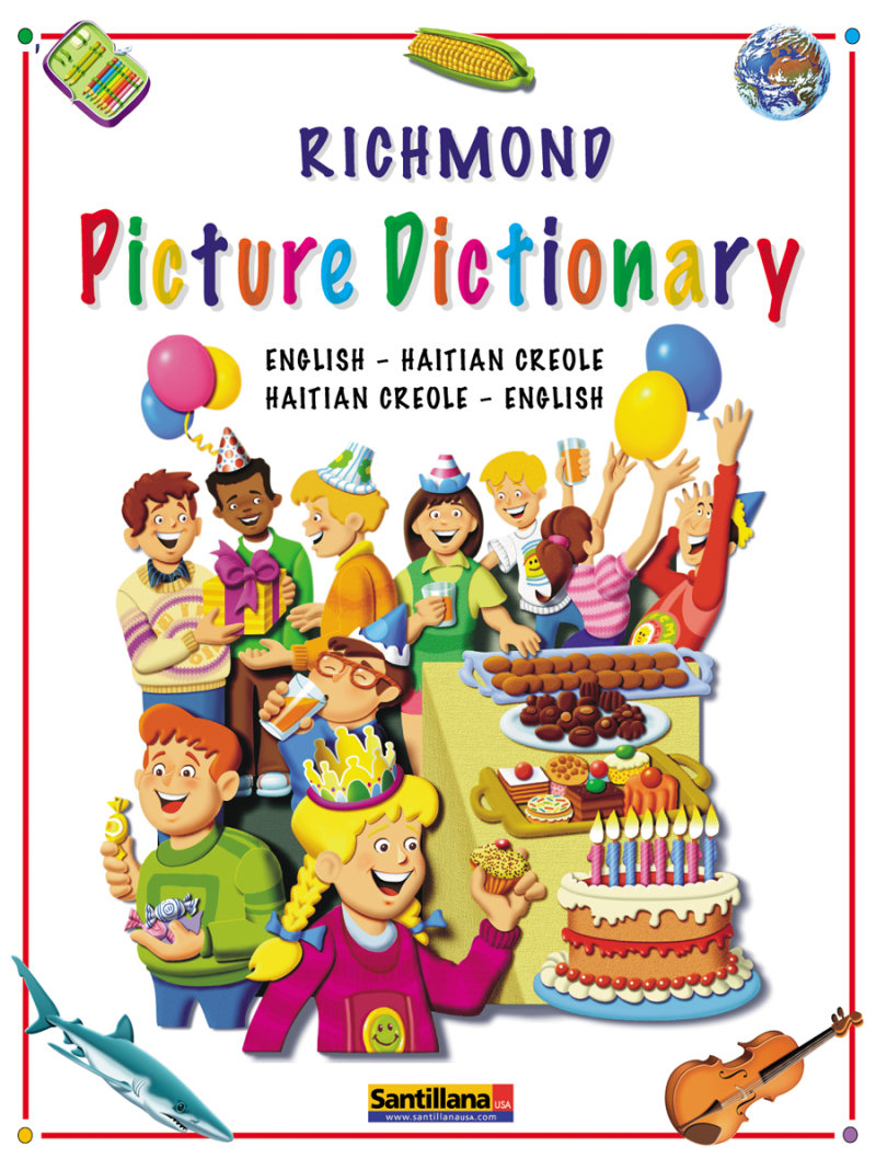 Richmond Picture Dictionary EnglishCreole