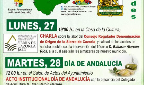 Varios eventos adornan el día de Andalucía