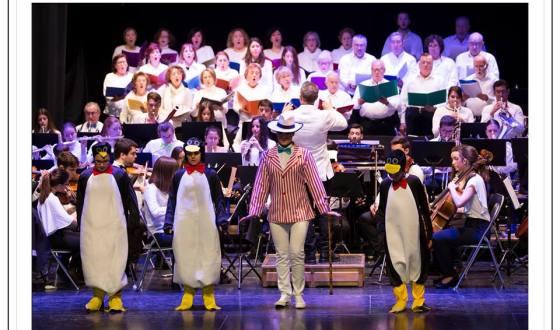 """Este domingo,la Orquesta y Coro de la Academia de Artes Escénicas de Baza, pone de nuevo en escena su éxito """"Cantando con Walt Disney"""""""
