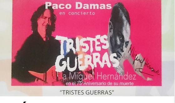Paco Damas canta a Miguel Hernández