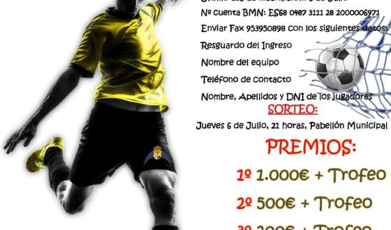 24 Horas Fútbol Sala 2.017