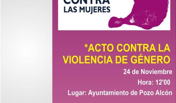 Pozo Alcón contra la violencia de género