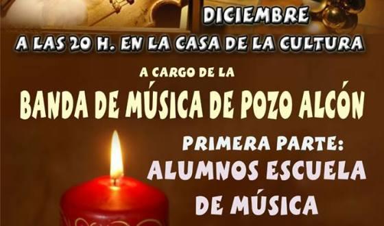 Concierto de Navidad a cargo de la Banda Municipal de Música