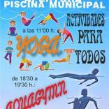 Agenda de fin de semana: campeonato de pádel y apertura de la piscina municipal