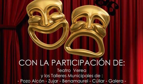 El Taller municipal de teatro  participa en Baza en una gala