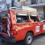 Pozo Alcón ya dispone  de  un vehículo dotado para la extinción de pequeños incendios