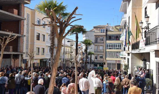 Cientos de poceños se concentran en apoyo del olivar