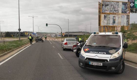 Este puente, la Guardia Civil  refuerzan los controles en carretera