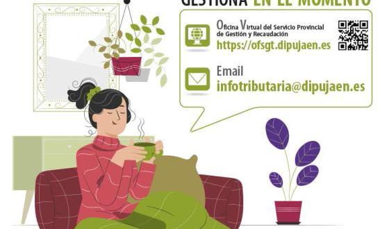 La Diputación de Jaén facilita el  pago de impuestos municipales