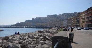 El paseo marino de Nápoles