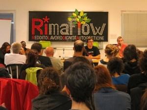 Assembleia pública na RiMaflow: 'renda, trabalho, dignidade, autogestão'
