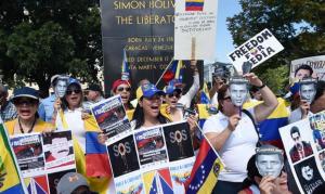 Manifestación en Miami por la liberación de Leopoldo López