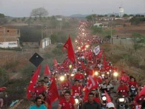 Marcha de apoyo al ex presidente Lula da Silva