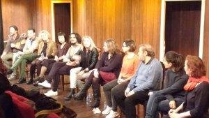 Tuvimos la suerte de demás de disfrutar participar en el encuentro con los actores y equipo técnico. Un placer las pláticas…