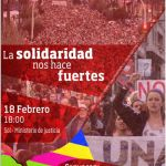 Manifestación: La solidaridad nos hace fuertes