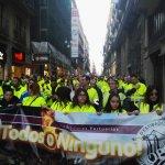 25-F: Las Marchas tomaron  la calle