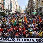 """Madriz: """"Pan, trabajo, techo e igualdad"""""""