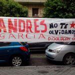 ¡Andrés hermano, no te olvidamos!