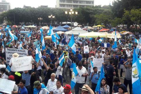 Guatemala. Miles de personas se movilizan contra la corrupción y la impunidad