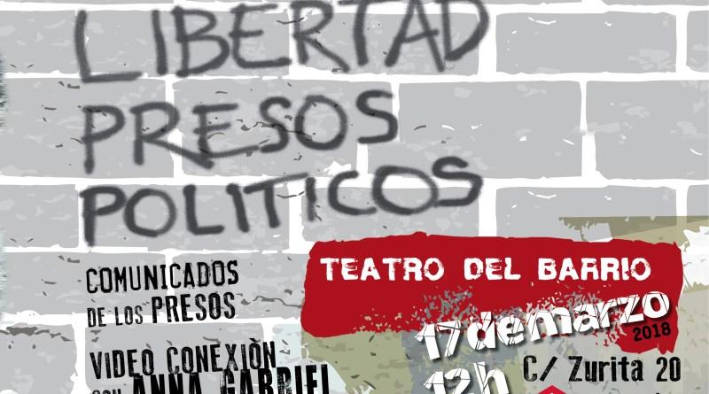 Cinco meses sin los Jordis. ¡Libertad Presos políticos!