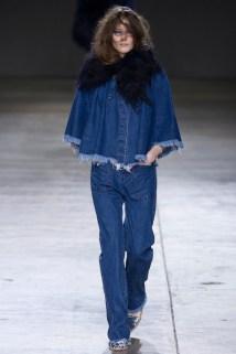 Fashion week highlight: torn denim at Marques Almeida