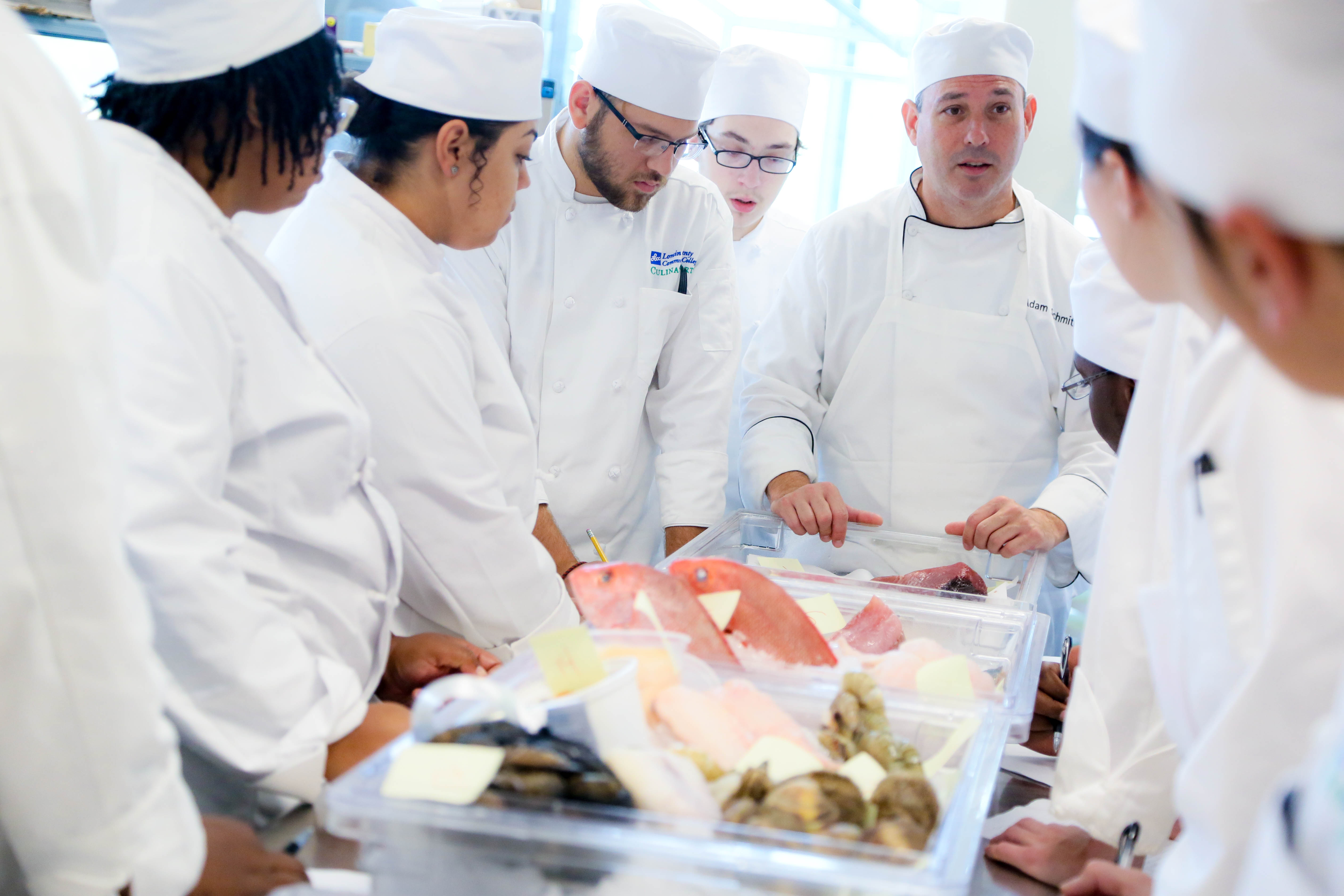 Chefs and Seafood