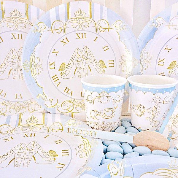 Cinderella Paper Dinnerware Set