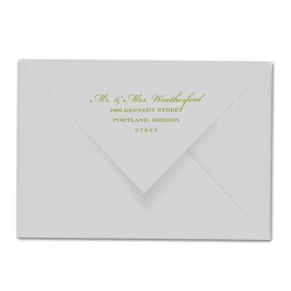 Envelope Printing For Wedding