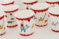 Animals on Parade Paper Dinnerware Set