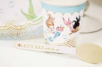 Mermaid Paper Dinnerware Set