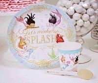 Mermaid Paper Dinnerware Set