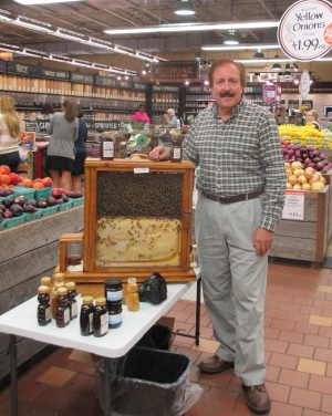 Raw honey sold in retail stores