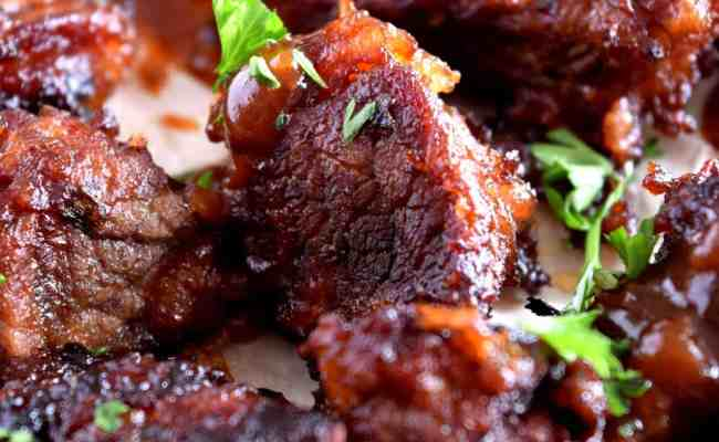 Barbeque Beef Bites Lord Byron S Kitchen