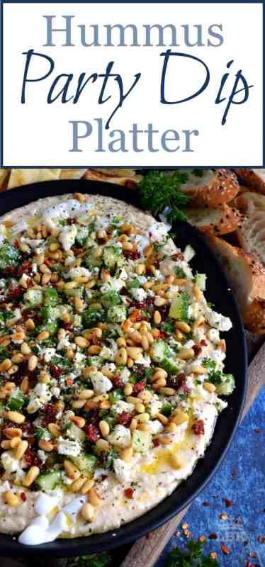 Hummus Party Dip Platter