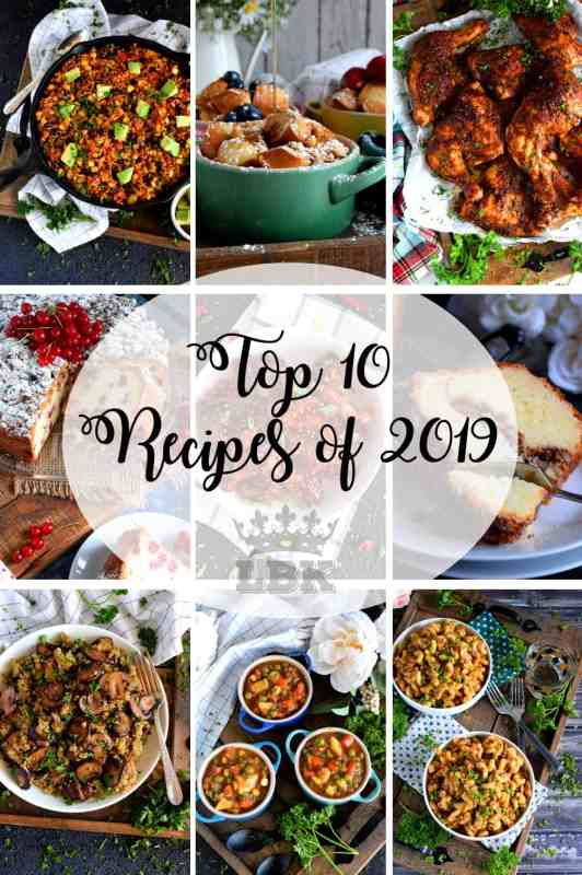 Top 10 Recipes of 2019 - Lord Byron's Kitchen