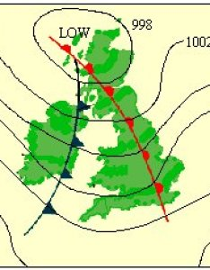 Below is  typical chart of british weather showing isobar lines also atmosphere climate  environment information programme rh lordgrey