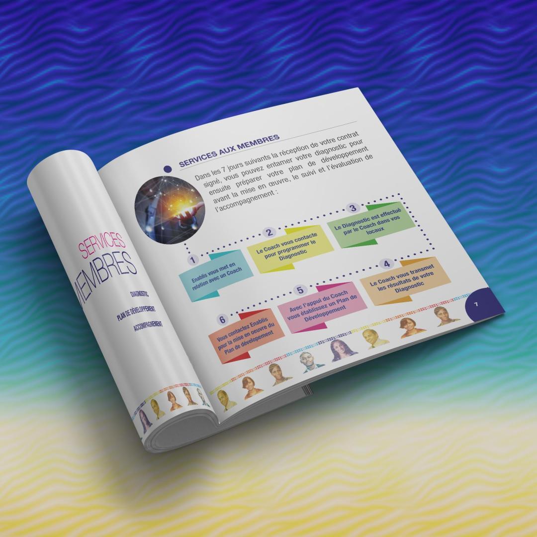 Le Guide du Membre - Brochure carré - ENABLIS