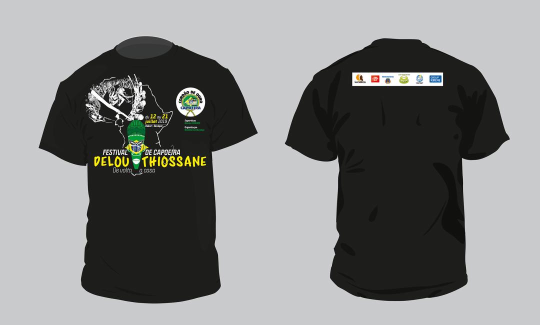 Tshirt - DELOU THIOSSANE