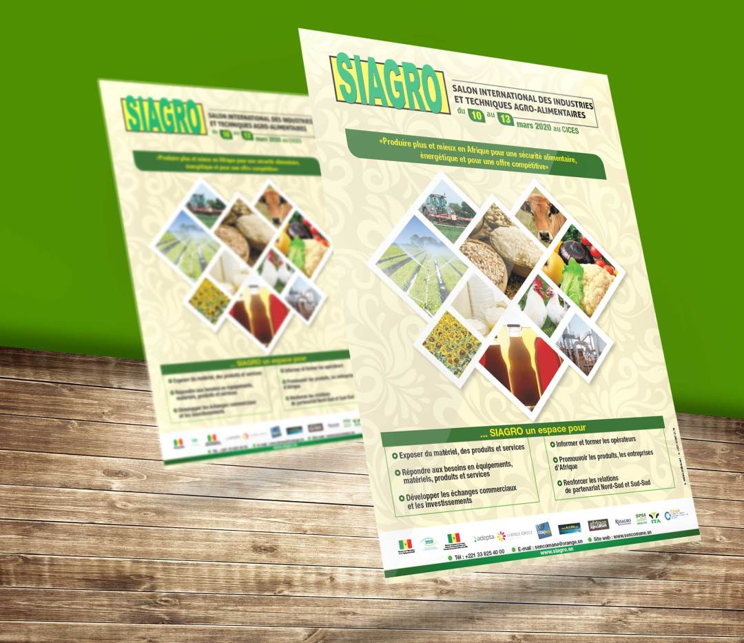 Flyers A5 - SIAGRO 2020 | Design by Lordibra |