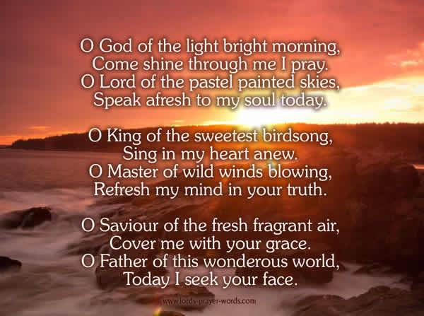 good morning prayers 12