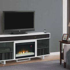 Living Room Ideas With Tv And Fireplace Small Photos Enterprise Electric Entertainment Unit In White ...
