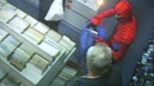 Spider-Man Foils Thief on Free Comic Book Day